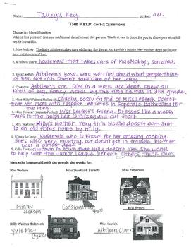 The Help - Kathryn Stockett: ch 1-2 Questions