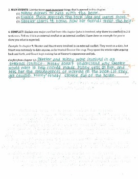 The Help - Kathryn Stockett: ch 12 Plot Setting Conflict Questions w/ Answer Key