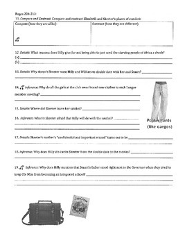 The Help - Kathryn Stockett: ch 13 Questions w/ Answer Key