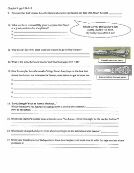 The Help - Kathryn Stockett: ch 8-9 Descriptive and Figurative Lang Terms Qs