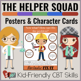 Helper Squad Posters: Cognitive Behavioral Therapy (CBT) f