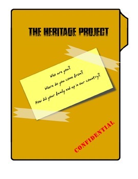 The Heritage Project - Research a Country