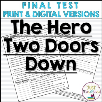 The Hero Two Doors Down Final Test