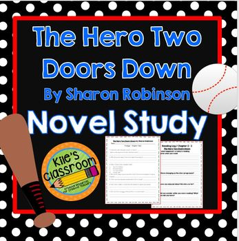 The Hero Two Doors Down Novel Study, Comprehension Quizzes, Vocabulary