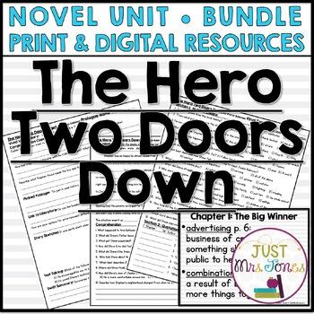 The Hero Two Doors Down Novel Unit