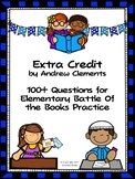 Extra Credit by Andrew Clements - Over 100 EBOB Questions
