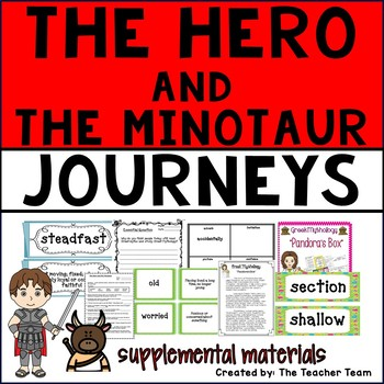 The Hero and the Minotaur Journeys 6th Grade Unit 4 Lesson 18 Activities
