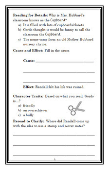 The Hero of Third Grade (Alice DeLaCroix) Novel Study / Comprehension (24 pages)