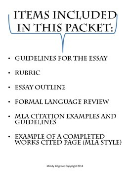 The Hero Or Villain Research Paper By Mindy Killgrove  Tpt The Hero Or Villain Research Paper Expository Essay Thesis Statement also English Language Essay Topics  What Is A Thesis In An Essay