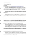 The Hero's Journey - 4 Mock Achieve 3000 Articles w/Assessments