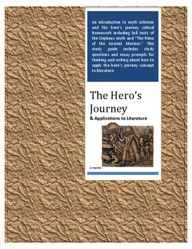 The Hero's Journey & Applications to Literature