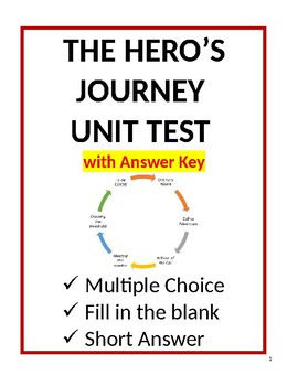 The Hero's Journey Final Unit Test