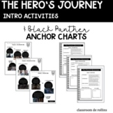The Hero's Journey and Black Panther Anchor Charts