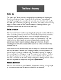 The Hero's Journey Handout and Chart