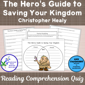The Hero's Guide to Saving Your Kingdom Reading Comprehens