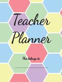 The Hex Teacher Planner