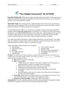 The Hidden Economist Project