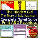 The Hidden Girl Novel Study - FREE Sample!