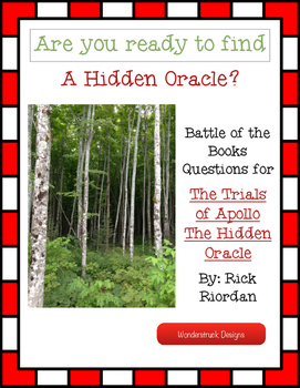 The Hidden Oracle Battle of the Books Questions