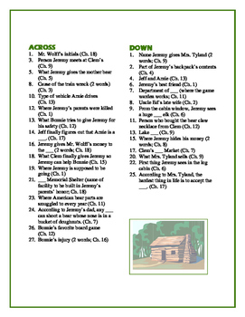 The Hideout: 30-clue Reading-for-Detail Crossword—Great Objective Review!