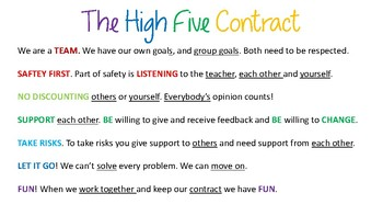 The High Five Contract