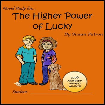 The Higher Power of Lucky: A Sample Novel Study  by Jean Martin