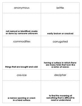 The Higher Power of Lucky Vocabulary Bingo