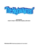 """""""The Highwayman"""": A Reader's Theater/Choric Speaking Script"""