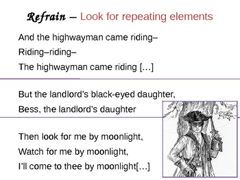 The Highwayman (Alred Noyes) (poetry) (poems)