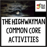 The Highwayman Common Core Lessons and Handouts