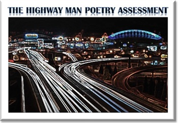 The Highwayman (Noyes) Poetry Quiz or Assignment