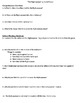 """""""The Highwayman"""" by Alfred Noyes - 10 comprehension questions"""