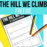 The Hill We Climb Amanda Gorman FREE Title Analysis: EASEL