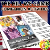 The Hill We Climb Poetry Companion Activities