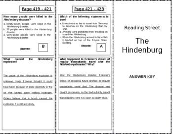The Hindenburg - 5th Grade Reading Street