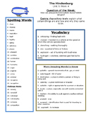 The Hindenburg  Reading Street 5th grade study guide centers group work