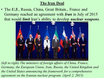 The Historical and Current Relationship Between the U.S. and Iran PPT