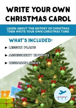 The History Of Christmas - FREE Carol Writing Lesson
