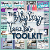 The History Teacher Toolkit Posters, Forms, Agenda, Historical Thinking