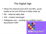 The History and Psychology of Social Media