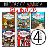 The History of America: to 1850 {4th Grade TN Standards}