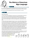 The History of American Sign Language