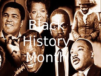 The History of Black History Month PowerPoint