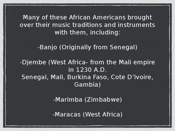 The History of Black Music in America