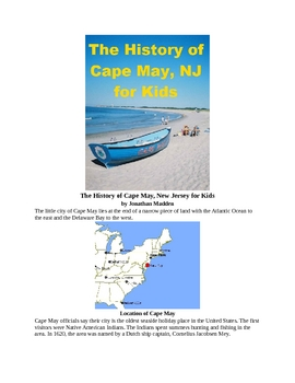 The History of Cape May for Kids