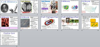 The History of Cells (PowerPoint)
