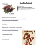 The History of Chocolate - Article Quest / Webquest - Sub Plan!