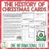 The History of Christmas Cards Reading Comprehension Passages with Questions