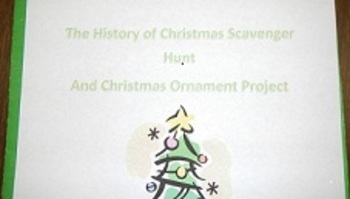 The History of Christmas Scavenger Hunt