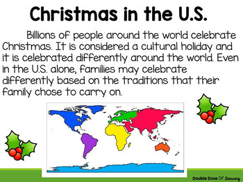 The History of Christmas in the U.S. PowerPoint Presentation